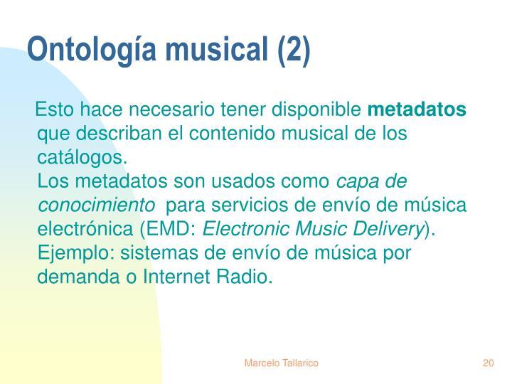 Ontología musical (2)