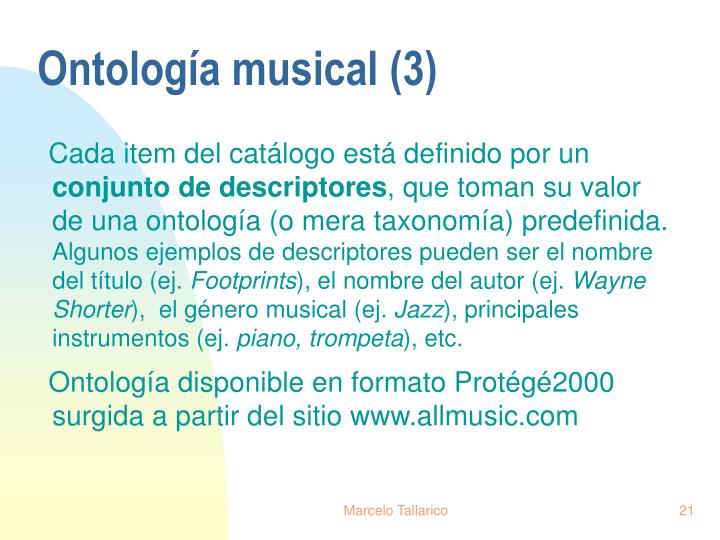 Ontología musical (3)