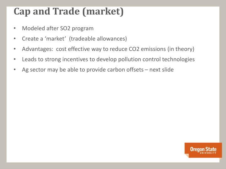 Cap and Trade (market)