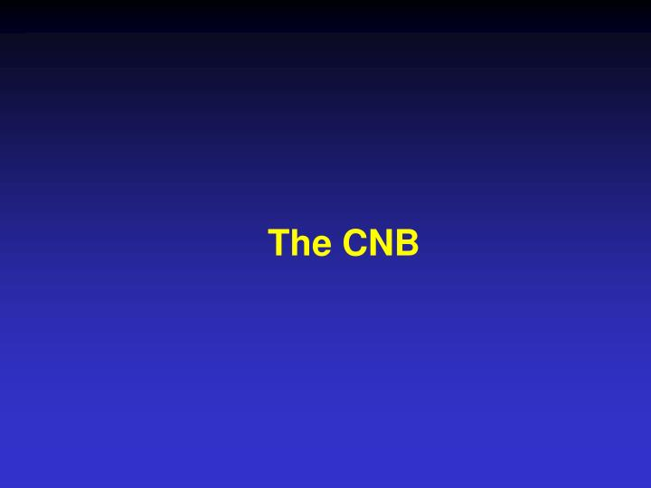 The CNB