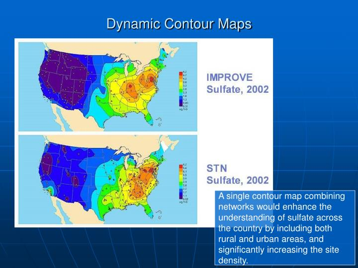 Dynamic Contour Maps