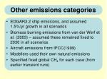 other emissions categories