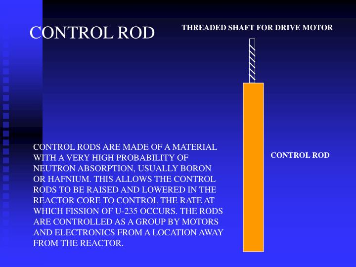 CONTROL ROD