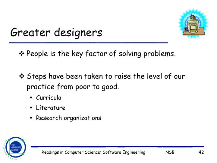Greater designers