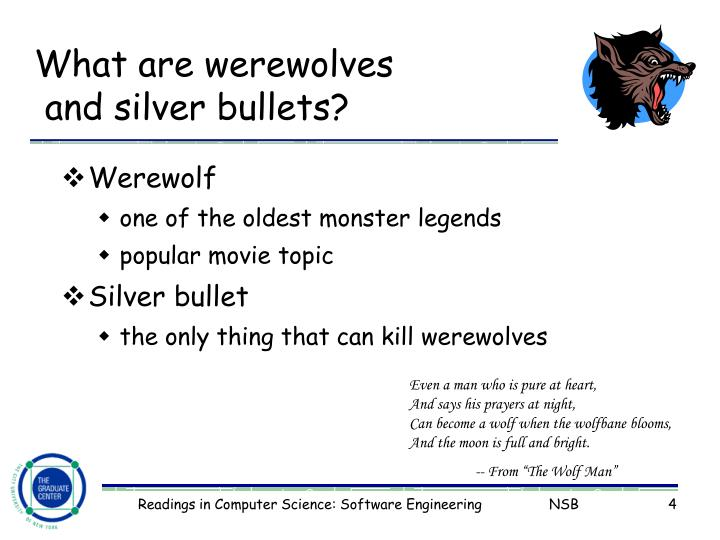 What are werewolves