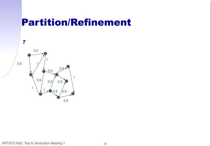 Partition/Refinement