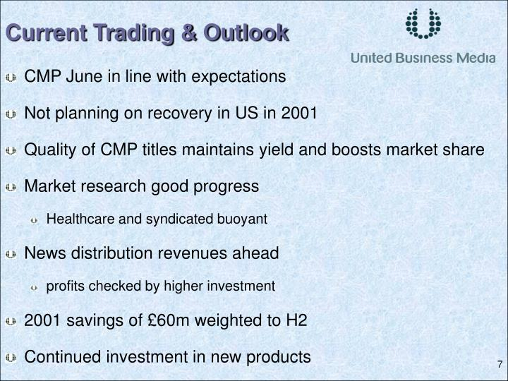 Current Trading & Outlook