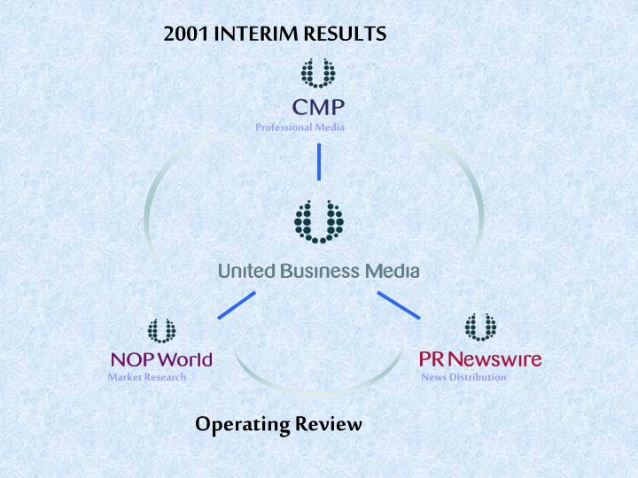 2001 INTERIM RESULTS
