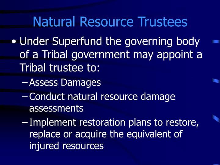 Natural Resource Trustees