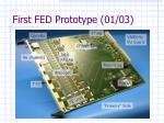 first fed prototype 01 03