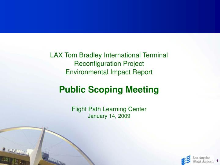 LAX Tom Bradley International Terminal
