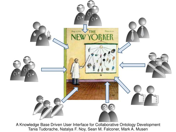 A Knowledge Base Driven User Interface for Collaborative Ontology Development