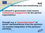 noe governance and monitoring 1