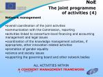 noe the joint programme of activities 4