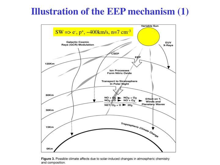 Illustration of the EEP mechanism (1)