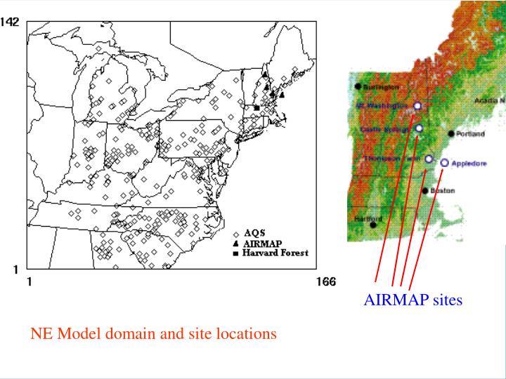 AIRMAP sites