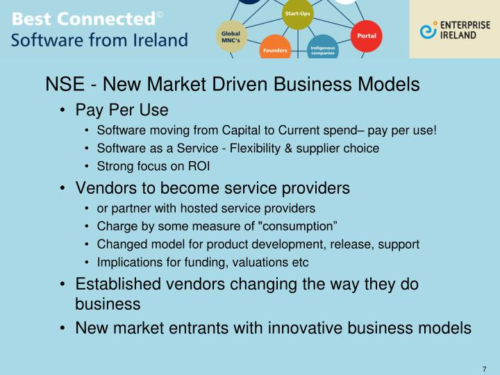NSE - New Market Driven Business Models