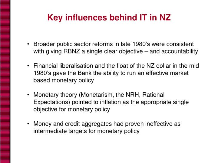 Key influences behind IT in NZ