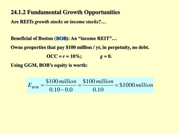 24.1.2 Fundamental Growth Opportunities