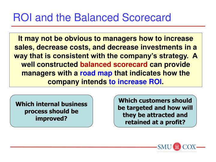 ROI and the Balanced Scorecard