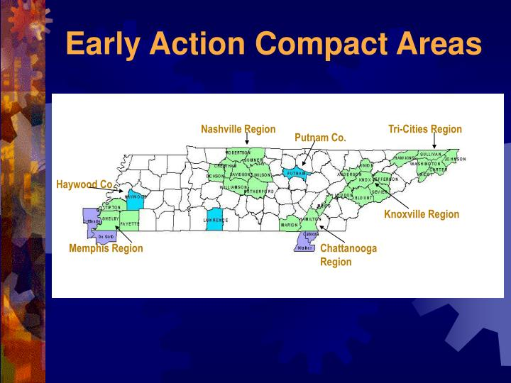 Early Action Compact Areas