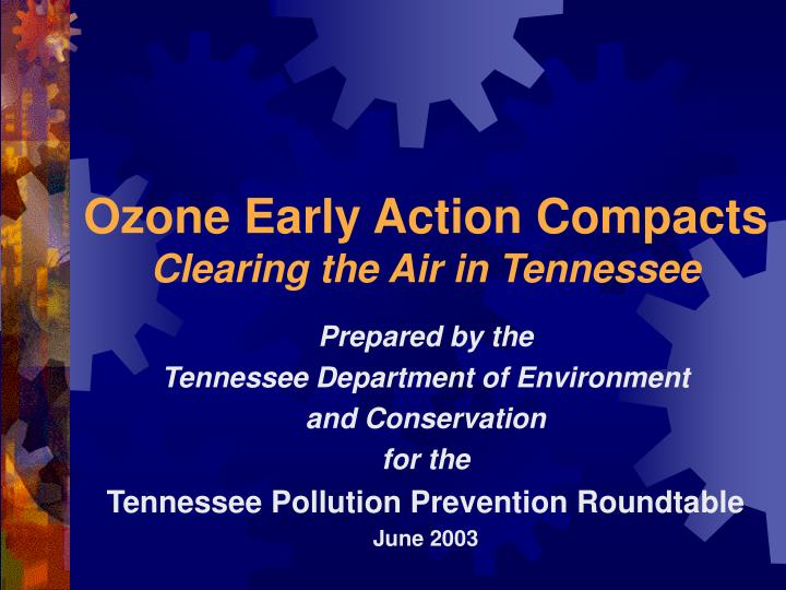 Ozone Early Action Compacts