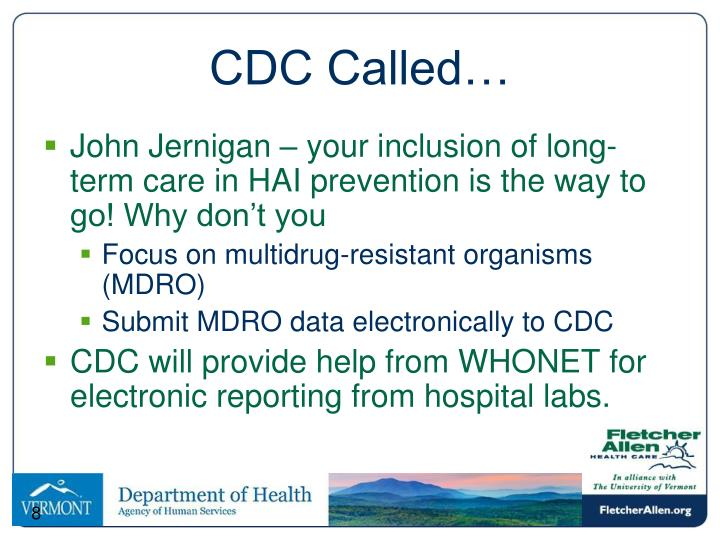 CDC Called…