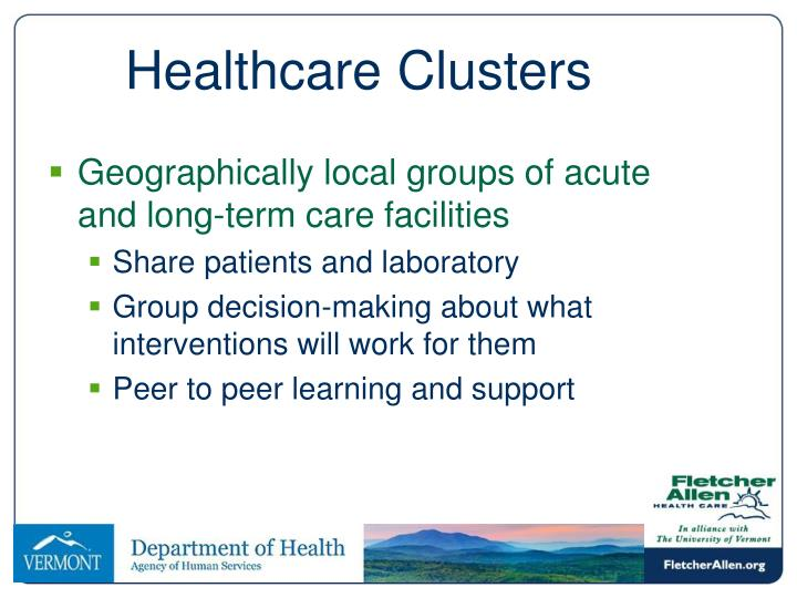 Healthcare Clusters