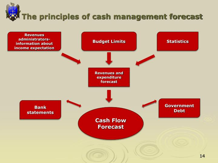 The principles of cash management forecast