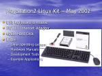 playstation2 linux kit may 2002