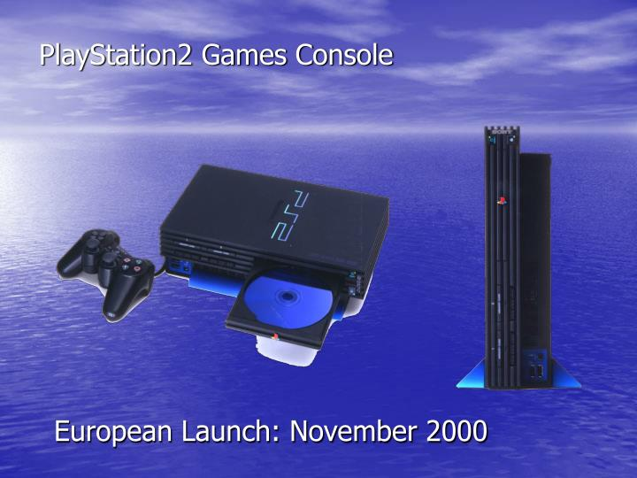 PlayStation2 Games Console