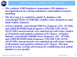 gmi radiometer synthetic data approach