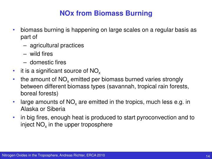 NOx from Biomass Burning