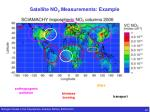 satellite no 2 measurements example
