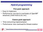 hybrid programming1