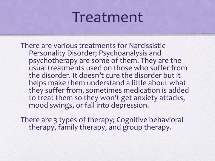 ppt narcissistic personality disorder powerpoint