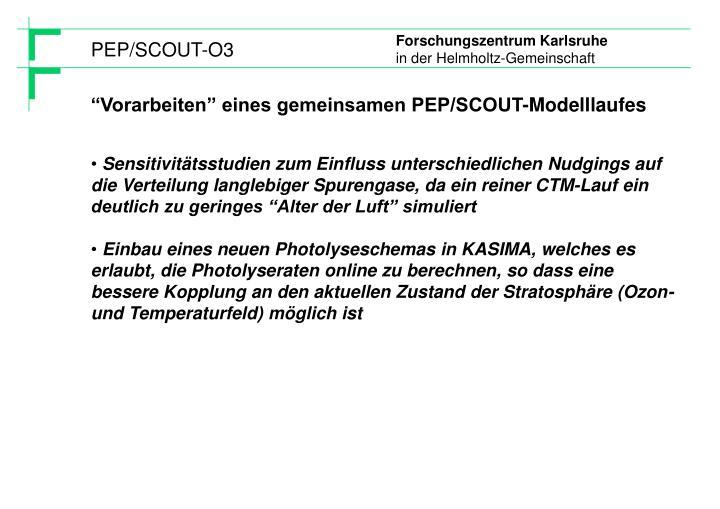 PEP/SCOUT-O3