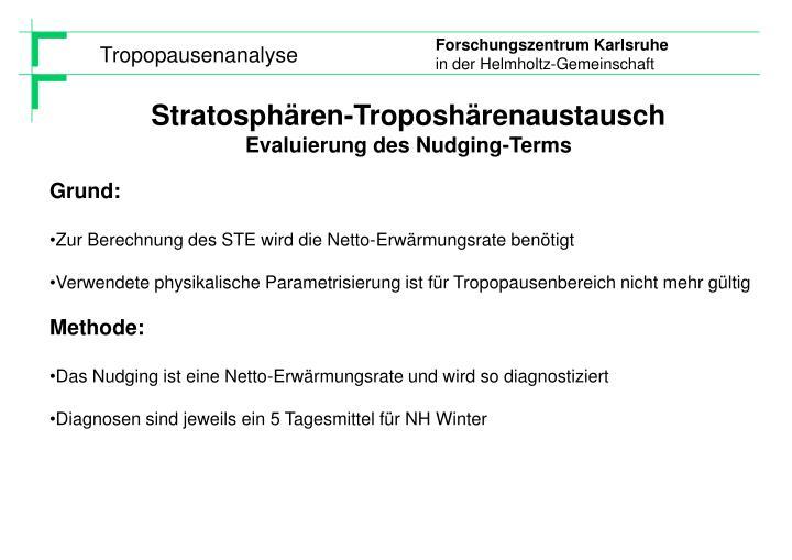 Stratosphären-Troposhärenaustausch