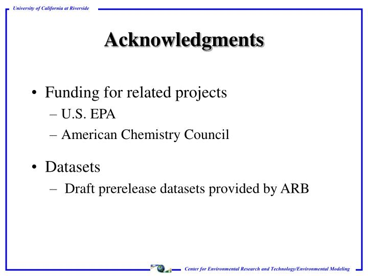 Funding for related projects