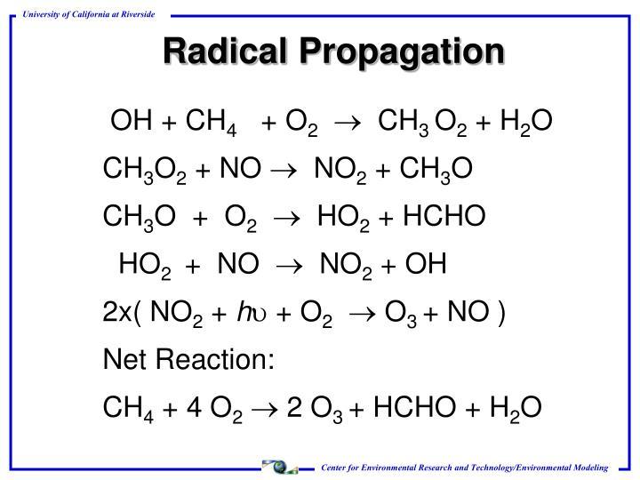 Radical Propagation