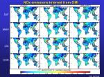 nox emissions inferred from omi
