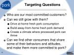 targeting questions