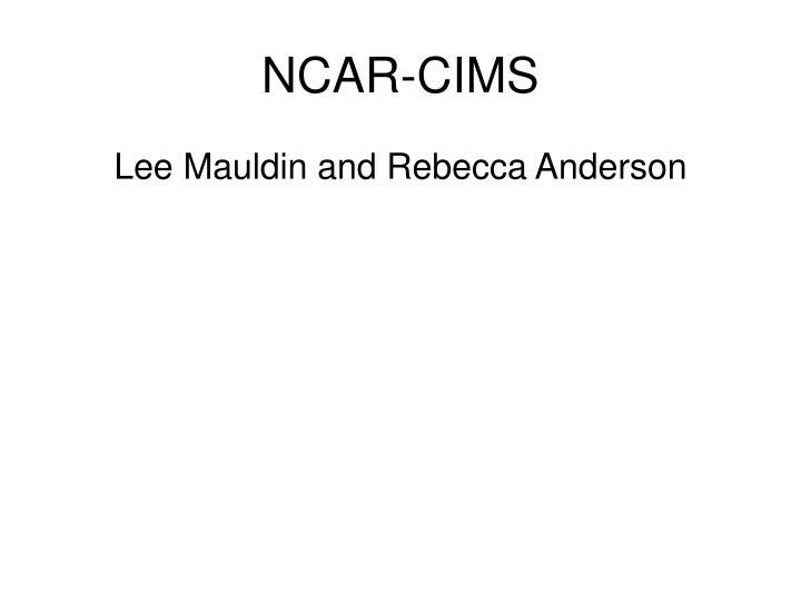 NCAR-CIMS