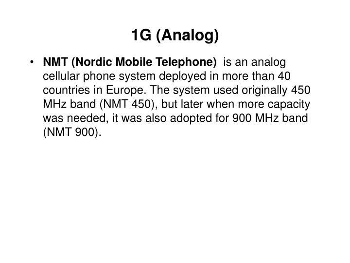 1G (Analog)