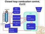 closed loop combustion control clcc