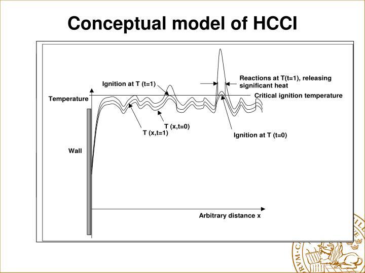 Conceptual model of HCCI