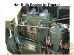 hot bulb engine in tractor