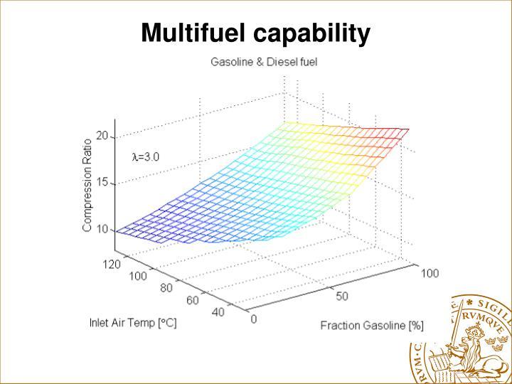 Multifuel capability