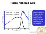 typical high load cycle