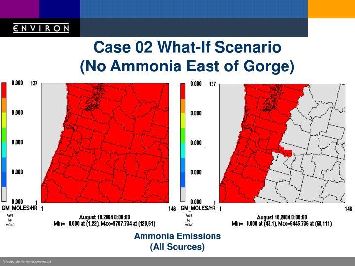 Case 02 What-If Scenario